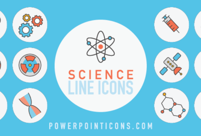 Science Line Icons PowerPoint Icons Tim Slade