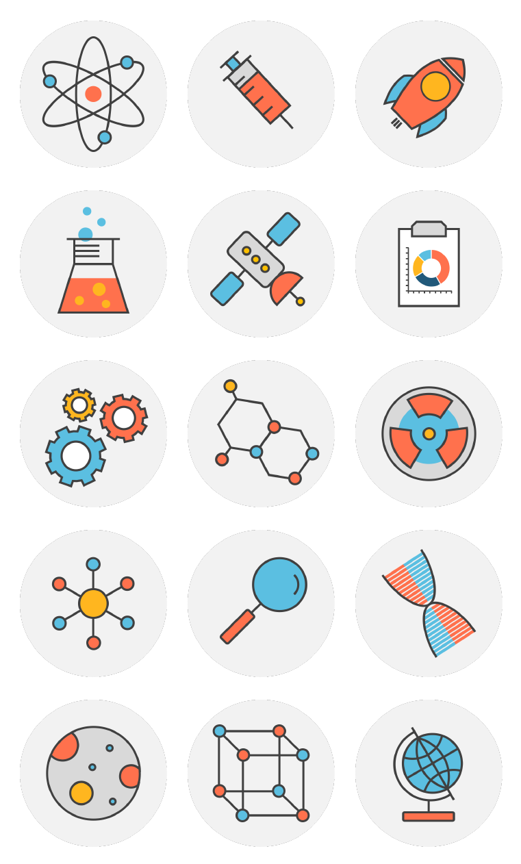 science line icons by powerpoint icons